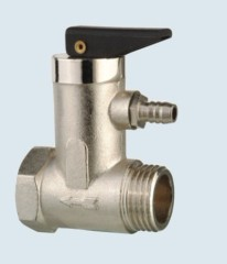 J-201-J safety valve for hot water systems