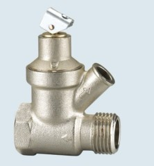 J-202-A brass safety valve for heating