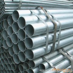 Pre-galvanized steel seamless pipes