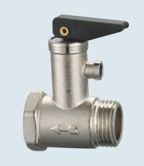 J-203-H brass safety valve for heating