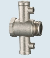J-205 temperature and pressure brass safety valve