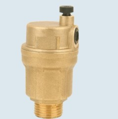 J-5302 automatic brass air vent valve