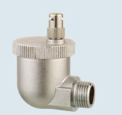 J-5305 Chrome plated air release valve