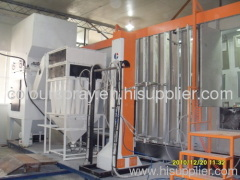 Aluminum profile powder coated production line