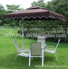 roma garden umbrella square shape