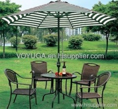 aluminum patio umbrella round