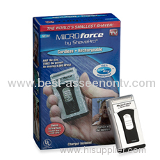 TV shaver rechargeable shaver