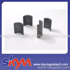 arc ferrite magnet/segment ferrite magnet