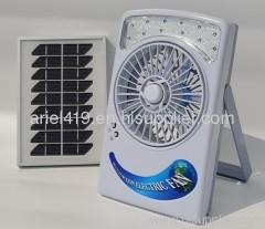 solar rechargeable Fan machine