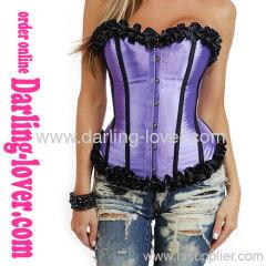 Wholesale Fashion Sexy Purple Corset