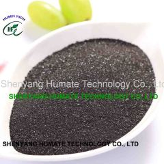 Potassium Humate Shiny Powder water soluble