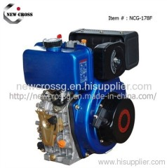 5.5HP Small Diesel Engin with Electric Start (NCG-D178F)