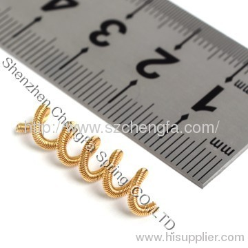 electrical springs ,Gold Plating