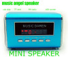 Music Angel MD05 Mini Speaker with TF Card Playing+FM Radio+Digital Screen+Clock