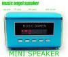 Music Angel MD05 Mini Speaker with TF Card Playing+FM Radio+Digital Screen+Clock