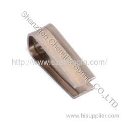 flat spring , heat treatment,beryllium bronze copper material
