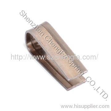 flat spring , heat treatment,beryllium bronze copper material