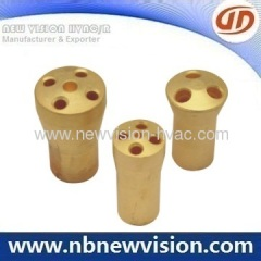 Brass Distributor for Fan Coil