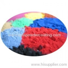 polyester epoxy powder coating