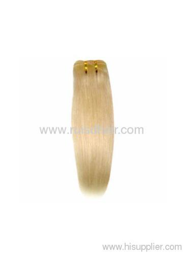 manchine made hair weft