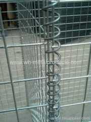 Blast Wall welded mesh gabion series