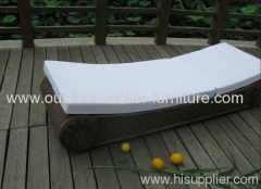 Multifunction wicker seat for patio
