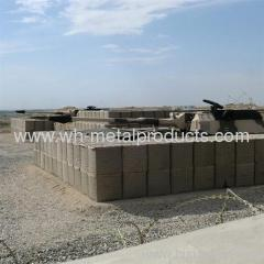 galvanized welded mesh containers military defence wall
