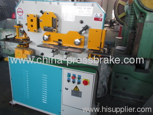 multifunctions hydraulic ironworker s