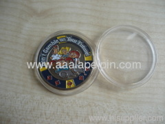 hard Enamel metal badges