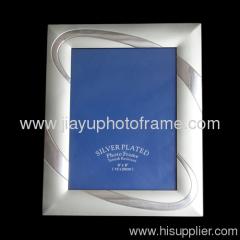 large leaf aluminum photo frames