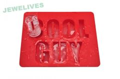 Fashionable word Shape Silicone Ice Cube tray