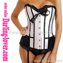 Wholesale White Overbust New Style Overbust