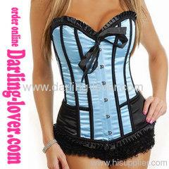 Sexy Blue Wholesale Corset Fashion Corset