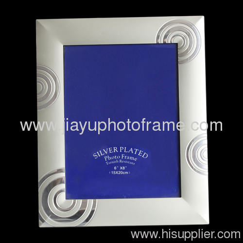 Frosted Silver Photo Frames From China Manufacturer Ningbo Jiayu