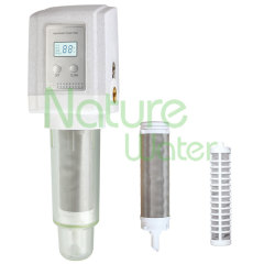 Automatic sediment filter for home use
