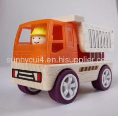 construction work - dump car wooden toys