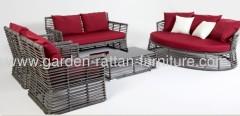 2013 new Outdoor big round wicker patio garden furniture sof