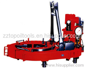 Oil well drilling power casing tong