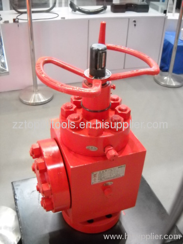 Oil well gate valve