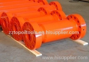 Spacer spool oilfield wellhead