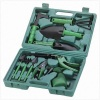 Portable garden tools set with case package