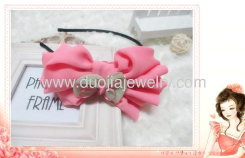 lovely pink hairband for children
