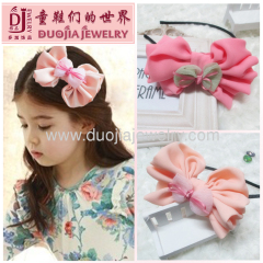 lovely pink hairband for children