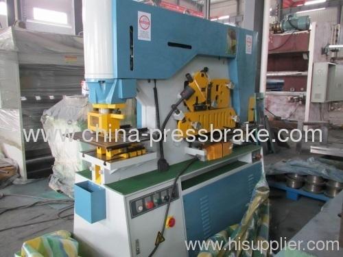 multi functional hydraulic iron-worker