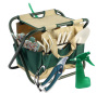 Garden Tools Set With Tote and Folding Seat