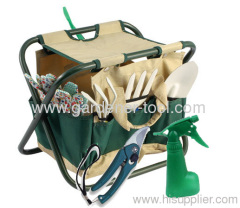 garden tools with folding chair&garden sprayer