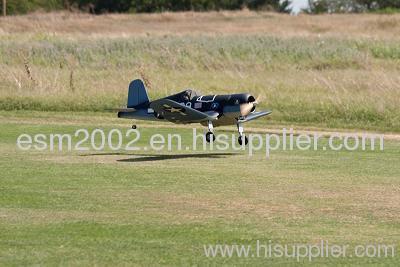 RC model plane F4U