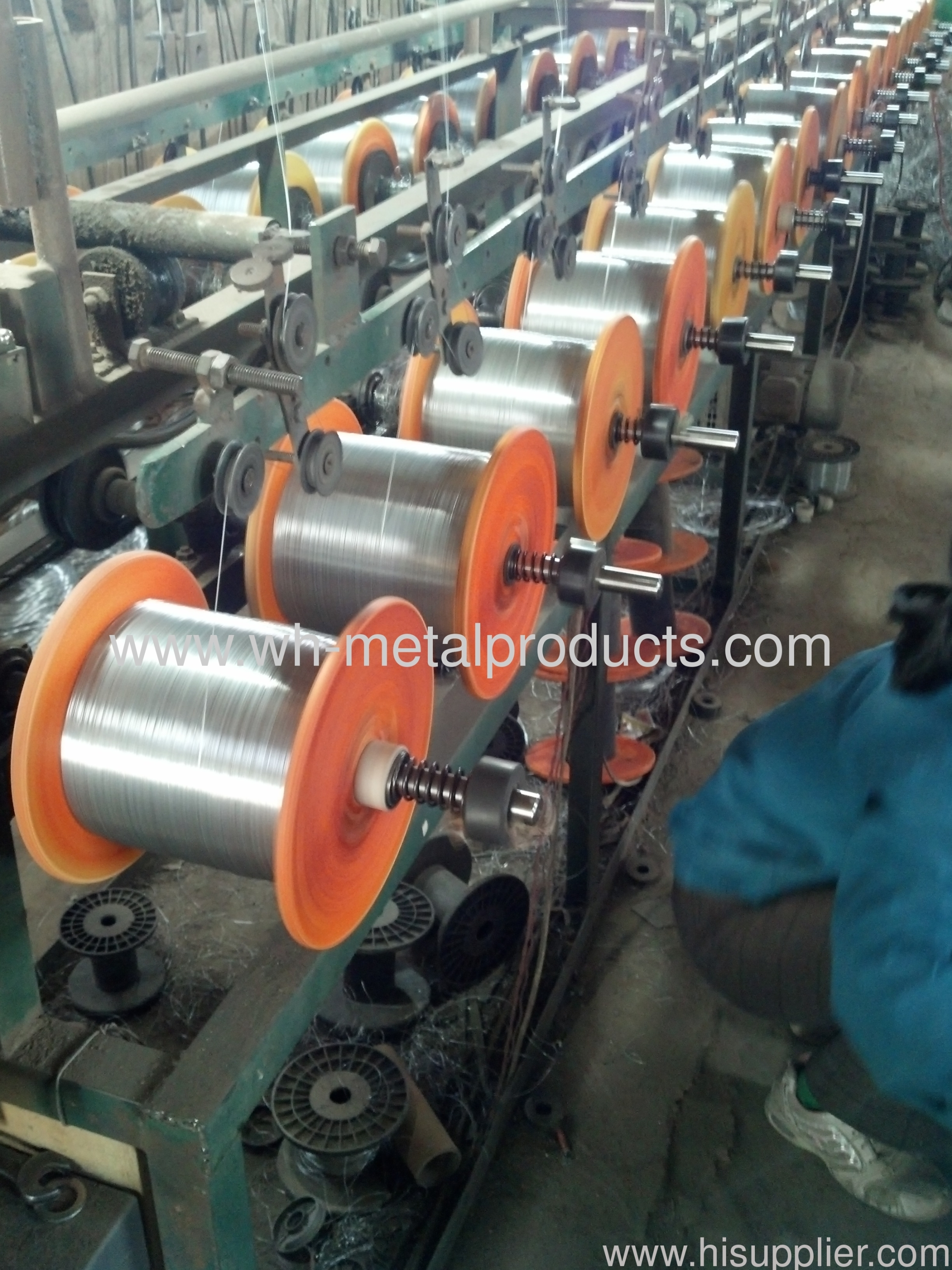 anping galvanized spool wire factory
