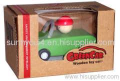 pull-back motor(open car) wooden toys model