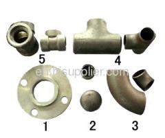 Steel Pipe Fittings -elbow,bend,tee,flange,reducer,pipe cap
